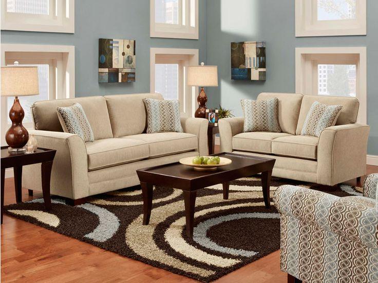 Frontline Linen Sofa Collection