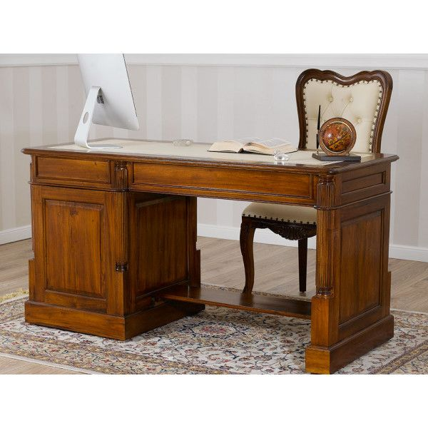Scrivanie Scrittoi Classici Di Lusso Legno.Scrivania Victorian Computer Stile Inglese Scrittoio Ministeriale