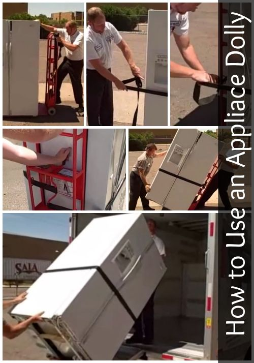 How do you properly use an Appliance Dolly? Find out here.