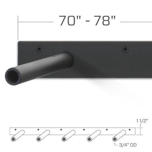 Das ORIGINAL ** HEAVY DUTY ** - unsichtbar schweben Wandkonsole--US Patent 9.861.198, Vorsicht vor Fälschungen. Jeder Bügel in dieser Auflistung hat 5 Stützstäbchen--unterstützt 1-1/2 dick + bis zu 14 tief Wählen Sie die Halterung Länge einfach kürzer als die Länge Ihres Regal Die