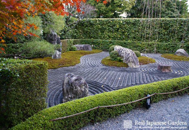 633 best japanese zen garden images on pinterest for Japanese sand garden