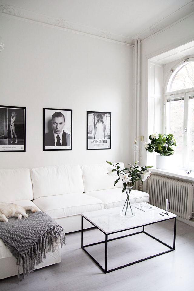 @heminredningsbloggen #marble #livingroom #table #scandinavian #homedecor #interior #interiordesign