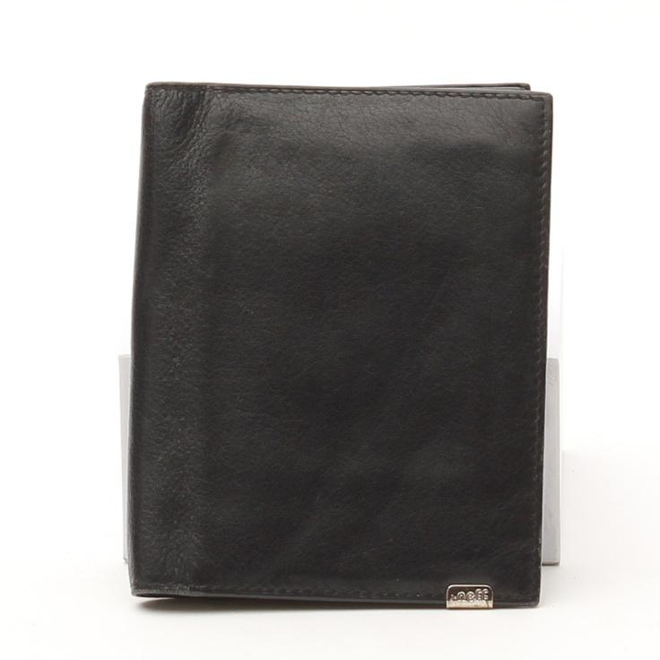 Stilvolles Kreditkartenetui von J-neff in Schwarz aus Leder - wie neu!