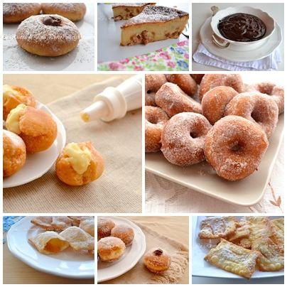 dolci di carnevale fritti e al forno,ricette di carnevale,le ricette di tina,dolci fritti di carnevale,carnevale,ciambelle,ravioli,migliacci...