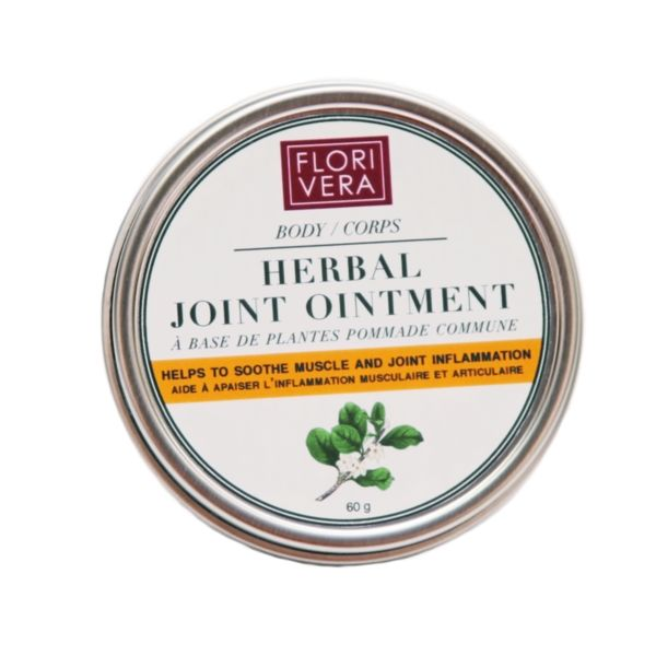Florivera Herbal Joint Ointment helps to soothe and calm irritated skin. It helps to treat muscle spasms, osteoarthritis, and other joint pain. Alleviates inflammation & temperature rise that is associated with headaches and migraines. www.florivera.com