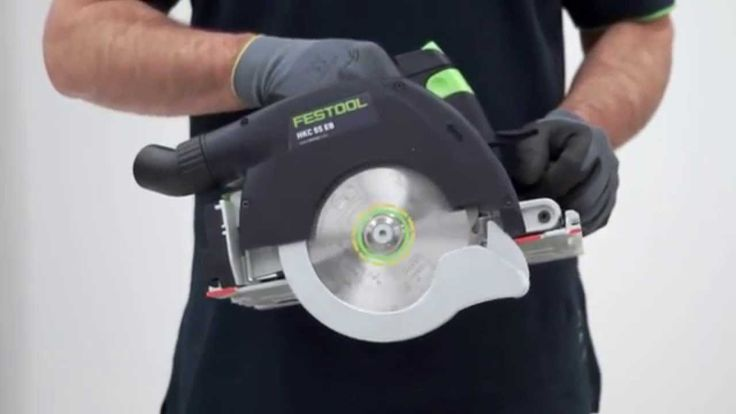 Festool TV-UK Cordless portable circular saw HKC 55