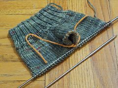 Simple Mittens (Worked Flat)   by The Students of Subway Academy II