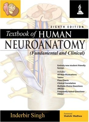 Textbook of Human Neuroanatomy : Fundamental and Clinical online purchase  books on http://www.bookchums.com/book/textbook-of-human-neuroanatomy/9788184487039/NzYxNzY=.html