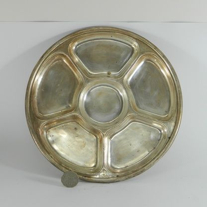 EPNS Hotel Ware - Canobolas - Snack Tray - EPNS Hotel Ware - Entree / snack tray - from a bygone era at the Hotel Canobolas, Orange, NSW. Various items in stock - discounts for multiple purchases - call us at the shop for details.