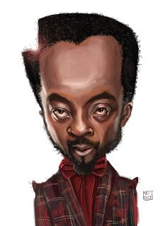 Wil I Am #Caricature #FunnyFaces