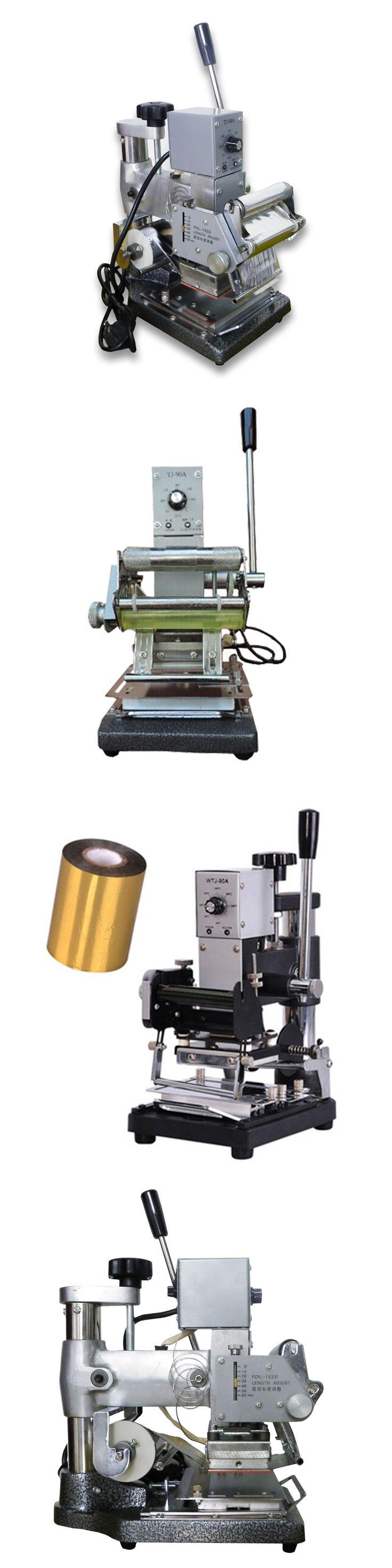 Hot Gilding Press Machine For PVC ID Credit Card Club Hot Foil Stamping Bronzing Machine on High quality