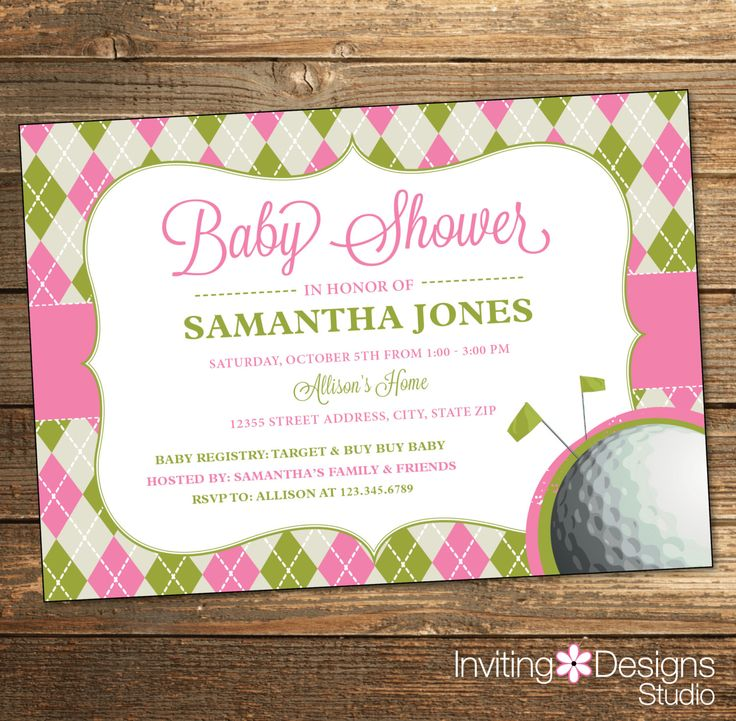 Nautical Baby Shower Invitation, Vintage, Pink, Purple, Mint Green ...