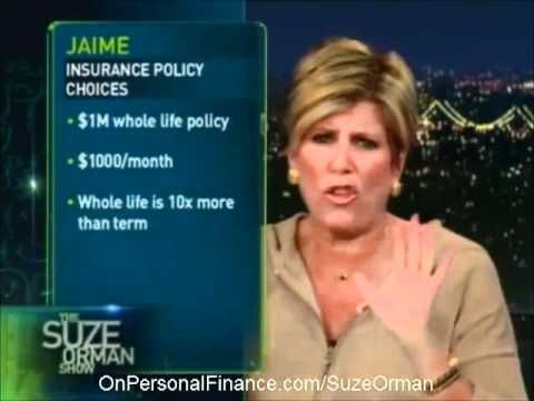 Suze Orman - Term and Life Insurance Comparison insurance.1makecashsales.info