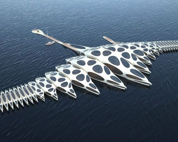 "Super cool concept ""floating hotel"". Would LOVE to stay there."