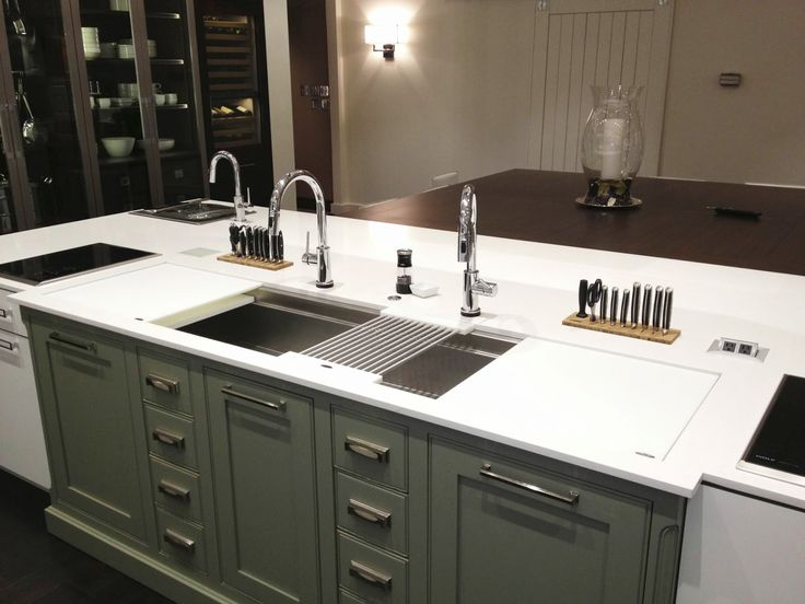 17 best images about cabinet ideas on pinterest new for Galley kitchen sink