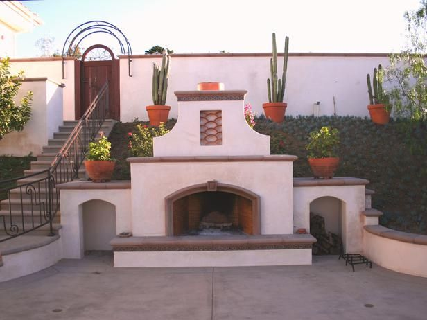 Canterra stone was imported from Mexico to create a dining patio worthy of a five star Mexican resort, complete with a rustic fireplace.