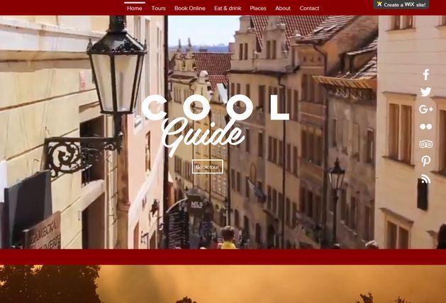 Dokončili jsme výrobu webových stránek Cool guide