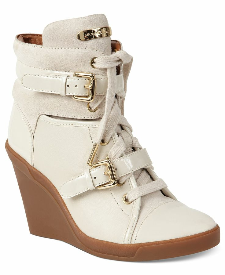MICHAEL Michael Kors Shoes, Skid Wedge Sneakers - Shoes