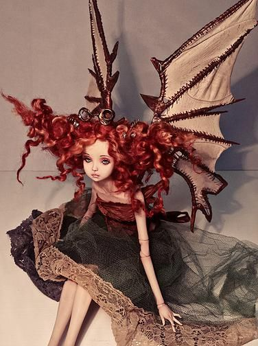 OOAK BJD Art Dolls By Victoria May