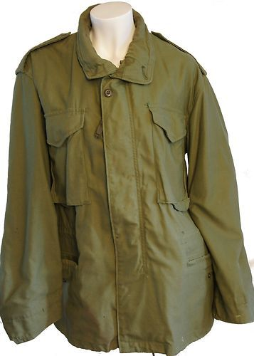 OD M-65 field jacket from 1977