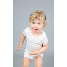 Noma short-sleeve body in organic cotton. Kids clothes, kids fashion, baby clothes, t-shirt, soft, quality.