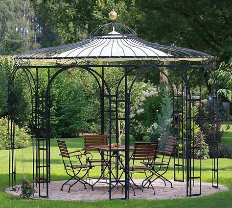 die besten 25 gartenpavillon metall ideen auf pinterest pergola metall einfache veranda. Black Bedroom Furniture Sets. Home Design Ideas
