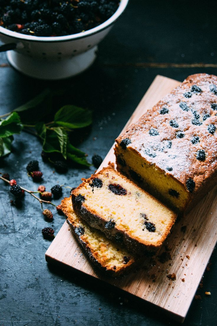 Mulberry tea cake - I picked some mulberries this afternoon so I could make this for morning tea tomorrow.
