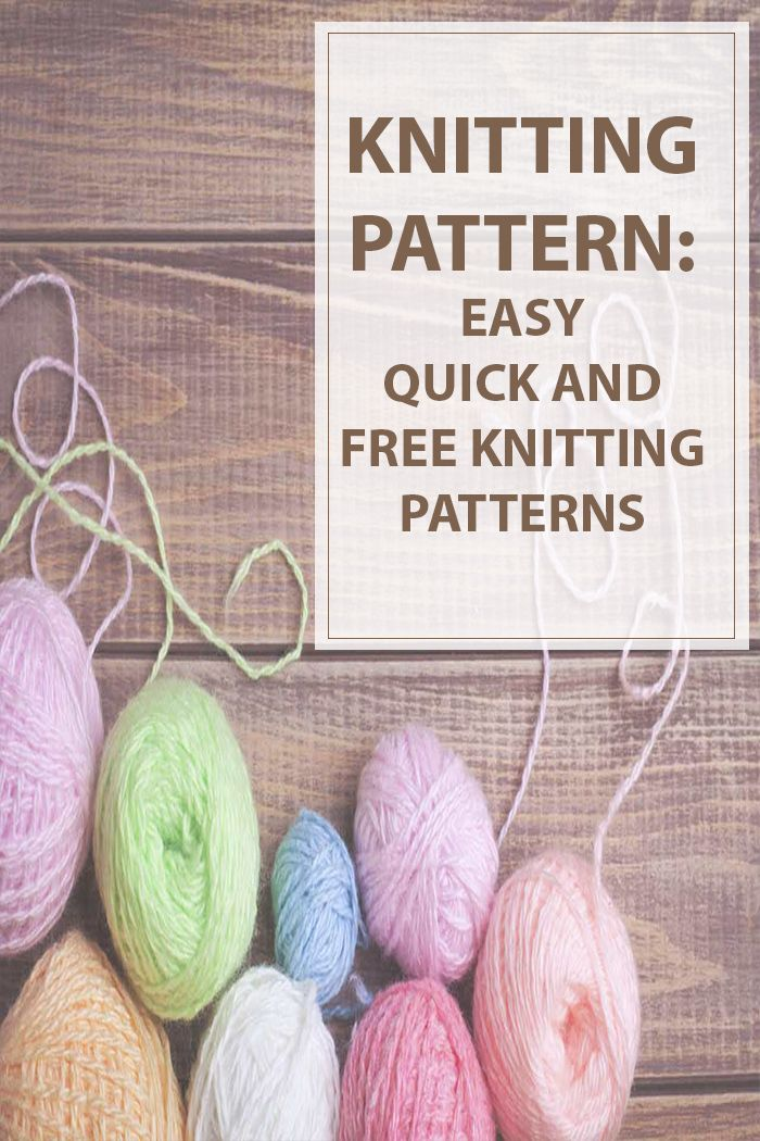Knitting Patterns Free Easy is a small list of quick,easy and adorable knitting pattern to make,wear or give them away to your love ones. #knitting #knit #knitted #patterns | www.housewiveshobbies.com |