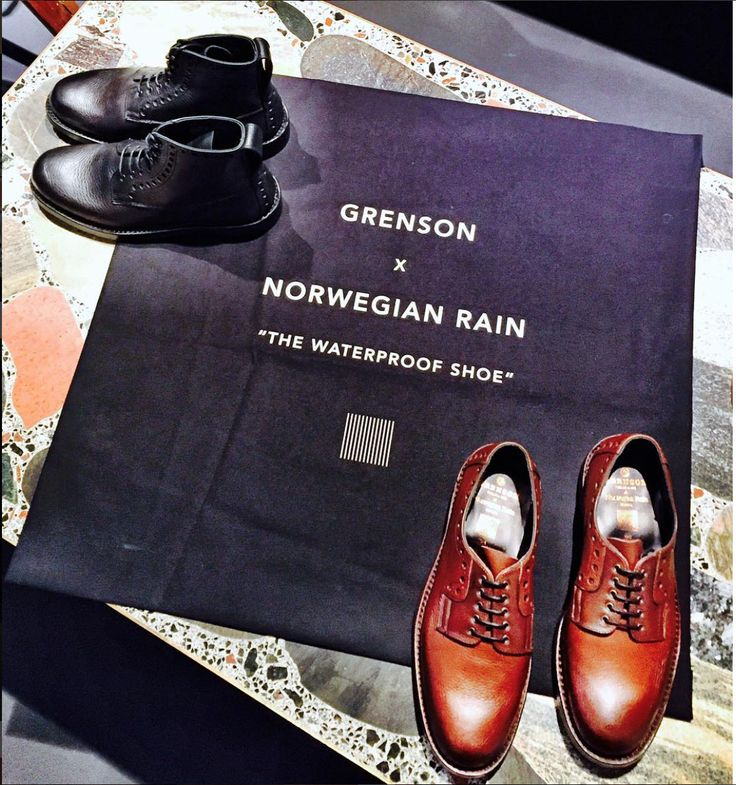 "Grenson x Norwegian Rain ""The Waterproof Shoe"" Launch"