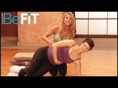 Pregnancy Workout: 1st & 2nd Trimester Toning- Denise Austin. @Shayleen Loveless this is what I'm talking about!