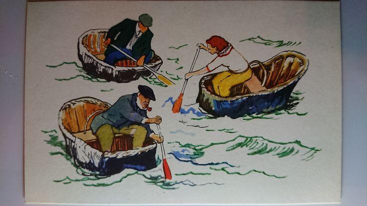 Лодки народов мира открытки, картинки