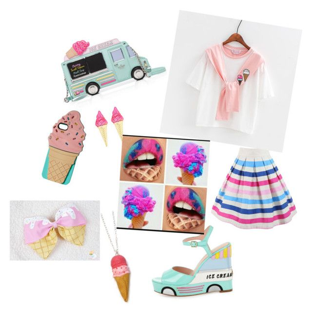 """""""Ice cream girl"""" by meenypie ❤ liked on Polyvore featuring Kate Spade"""