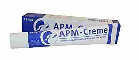 APM Creme zur Massage der Kaiserschnitt Narbe ist super
