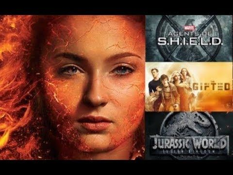 Jurassic World 2, X Men Dark Phoenix & More!