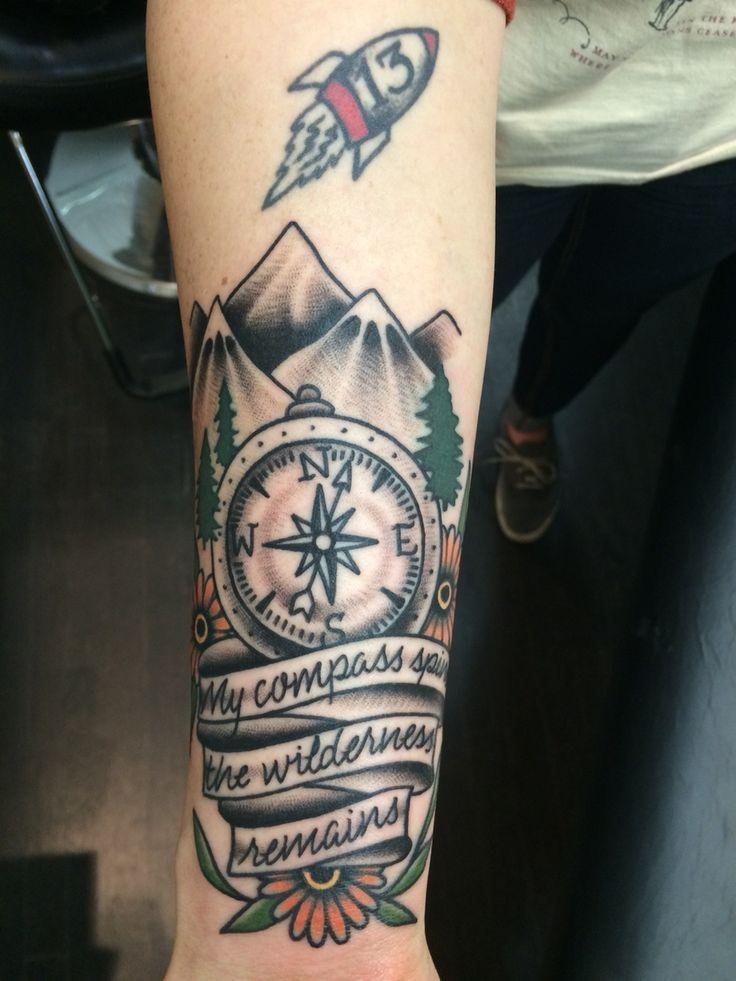 My new tattoo. ️
