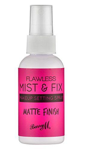 setting spray make up
