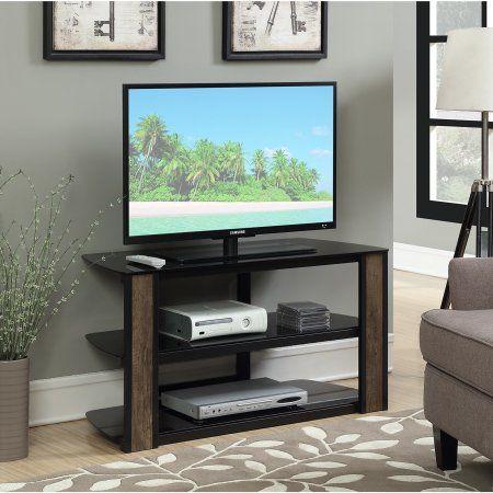 Convenience Concepts Designs2Go Rainer 42 inch TV Stand, Black