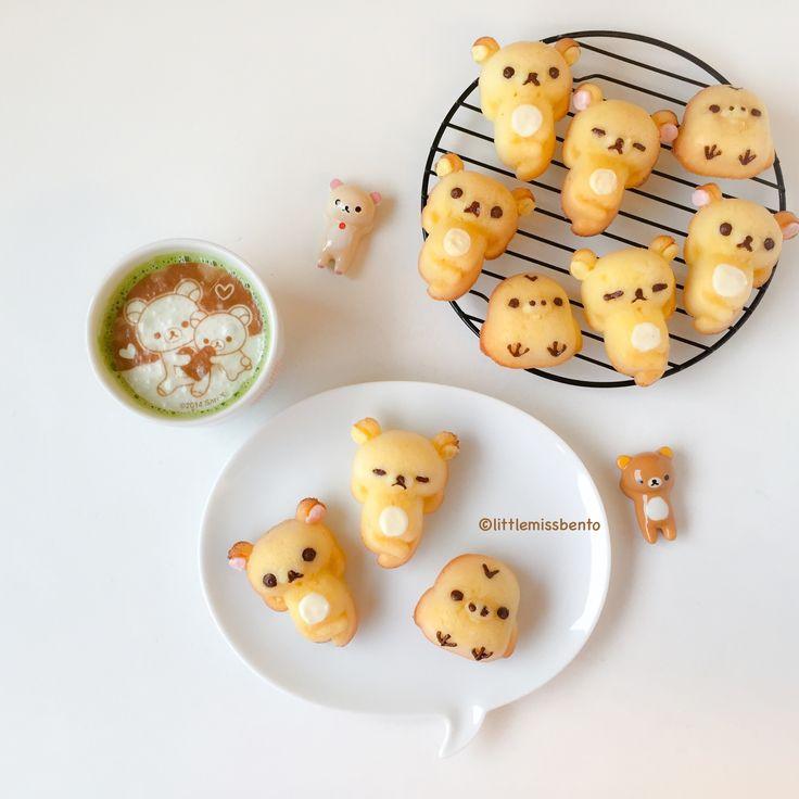 Rilakkuma Honey Cakes