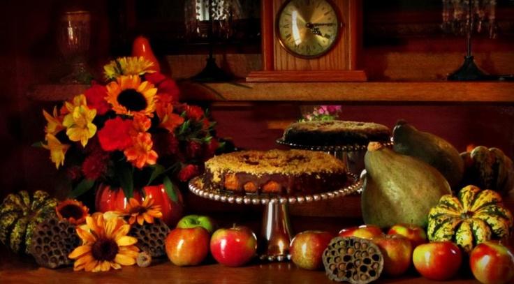 Walnut Torte with Chocolate Ganache for Dad's birthday. Click on links:   www.ep…