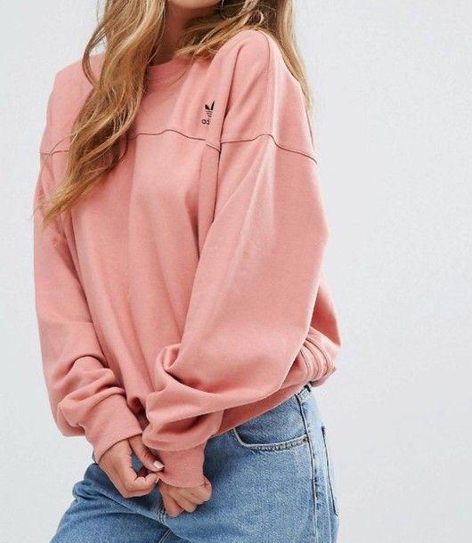 Sweater: sweatshirt lovely lonely lovely rozay rose adidas adidas adidas sweats girly girly wishlist
