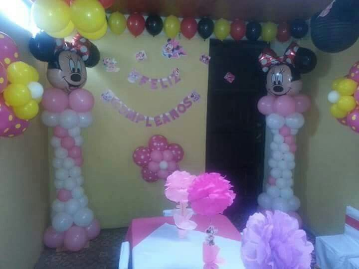 Minnie globos
