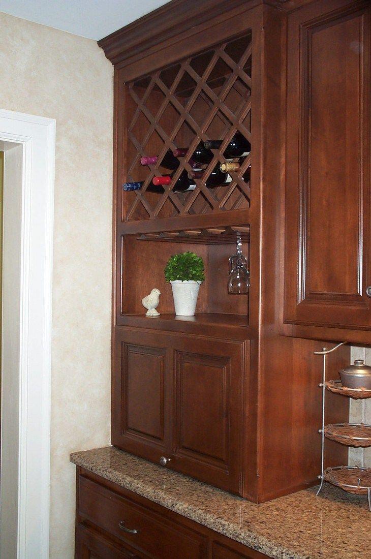 Kitchen Wine Rack Cabinet kitchen wine rack