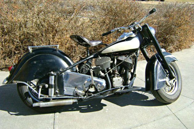Last Of The Mohicans 1953 Indian Chief Police Special Indian Motorcycle Pontiac Chieftain Motorcycle
