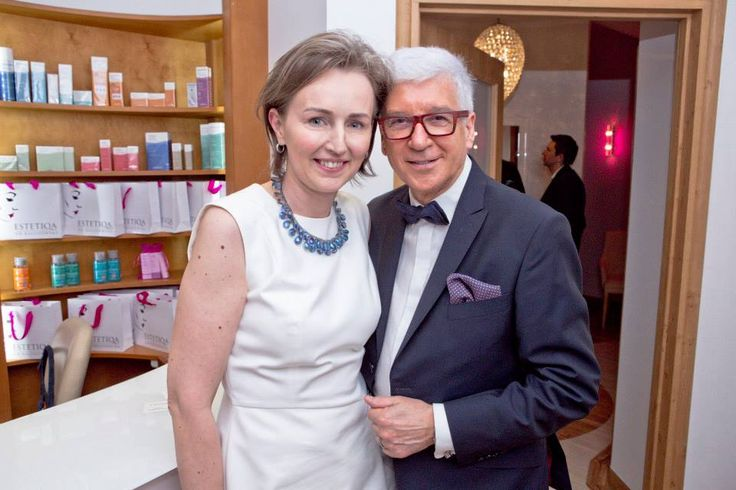 Dr Anna Kaliszewska z Ryszardem Rembiszewskim