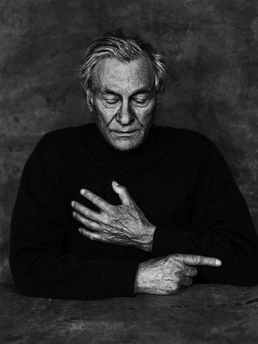 Jan Hoet (1936-2014), founder of the City museum for Contemporary art in Gent (Belgium) till 2003, curator Dokumenta IX in Kassel (Germany), artistic director for the MARTa museum in Herford (Germany) - © Stephan Vanfleteren, 2013