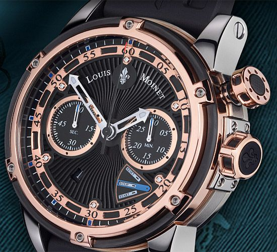 Crudmudgeonz Tumblr • Jules Verne Instrument III watch is inspired by the Nautilus submarine