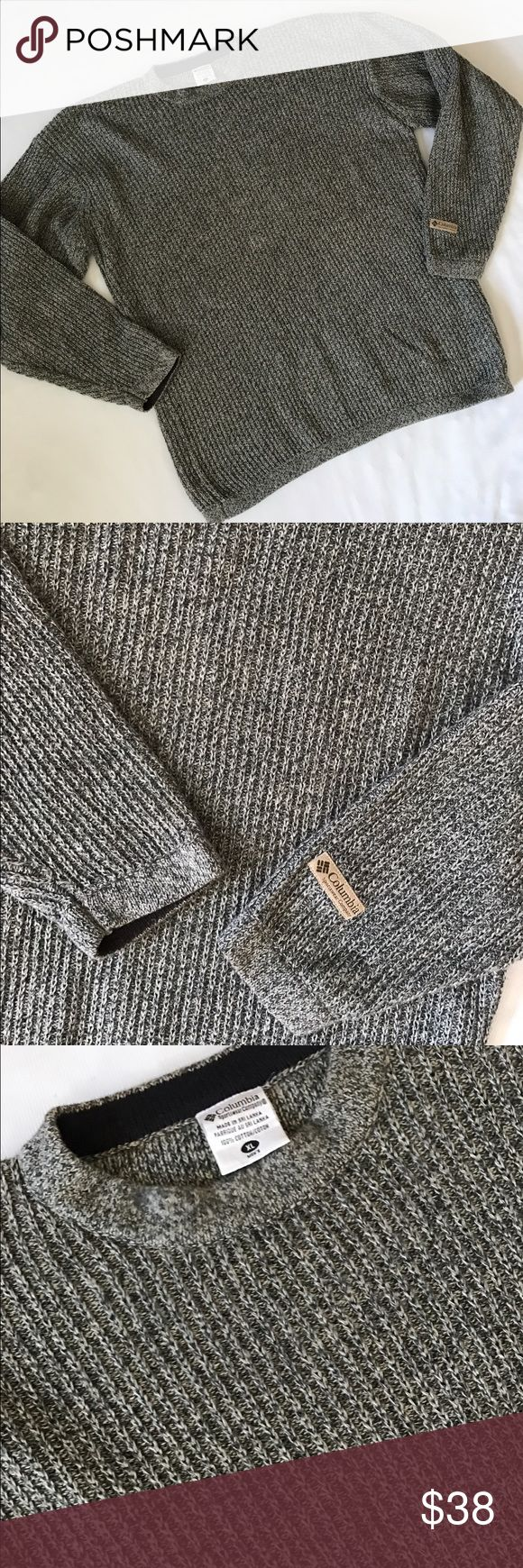 "Really nice Columbia sweater 22"" pit to pit 28"" long  100% cotton Columbia Sweaters"