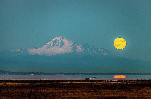 Art Calapatia - Mount Baker Moonrise 3