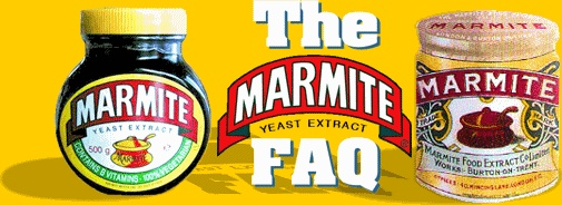 Marmite is dark brown-colored savory spread made from the yeast that is a by-product of the brewing industry. It has a very strong, slightly salty flavor. It is definitely a love-it-or-hate-it type of food.  It also clarifies why Marmite is not Vegemite, Bovril etc...but just the original inimitable MARMITE!