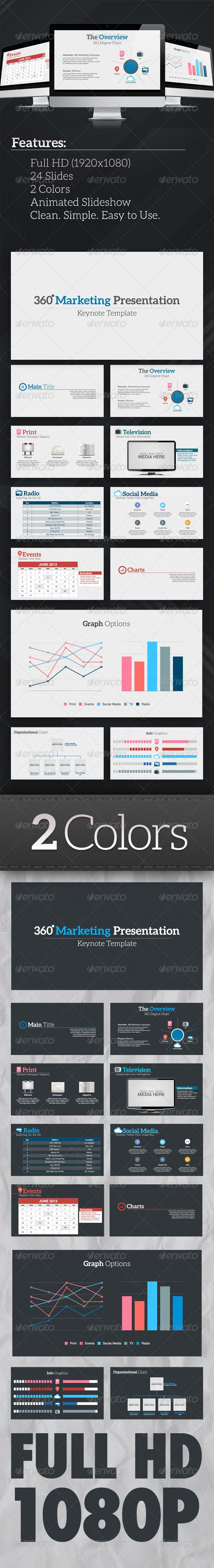 124 best Keynote themes / templates images on Pinterest ...